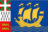 Saint Pierre and Miquelon flaga